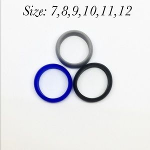 Jewelry - Rubber silicone wedding rings bands